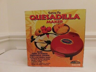 $69.99 • Buy Santa Fe Quesadilla Maker NEW