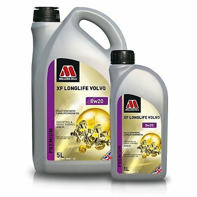 Millers Oils XF Longlife Volvo 0w20 C5 Fully Synthetic Engine Oil • 32.90£