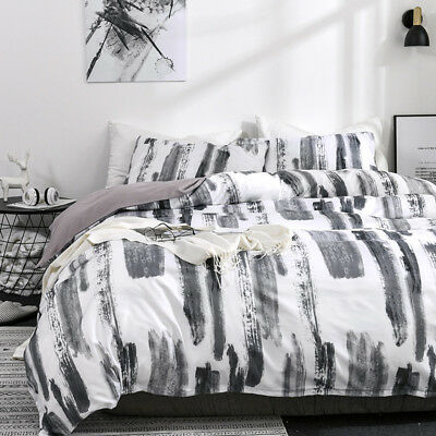 £39.92 • Buy New Printed Bedding Sets Soft Duvet Quilt Cover Pillow Case Twin Queen King Size