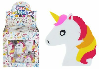 UNICORN Erasers Rubbers Girls Kids Party Loot Bag Fillers - Choose Quantity • 1.99£