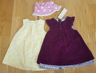 Pigeon Organics For Kids BNWT Sun Hat 6-12 Months JoJo Dress Summer Floral Set  • 13.99£