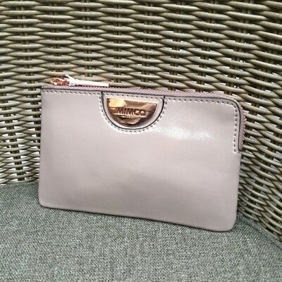 AU34.99 • Buy Mimco Echo Balsa Rose Gold Small Pouch Leather • Authentic Rrp $79.95