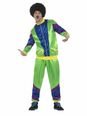 Men's 1980's Height Of Fashion Shell Suit Fancy Dress Costume Festival Stag Fun  • 29.39£