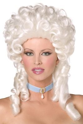 Women's Marie Antoinette Fancy Dress Wig Posh Burlesque Ball Cinderella Hen Fun  • 15.18£