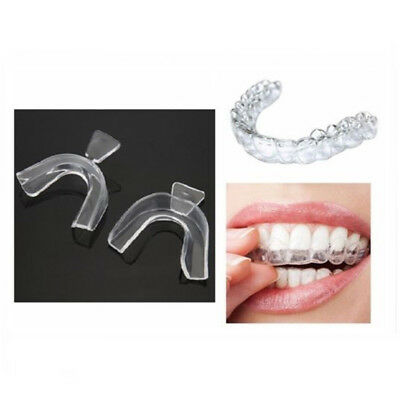 AU1.99 • Buy 2 Thermoform Moldable Whitening Mouth Teeth Dental Trays Tooth Guard Whitener CA