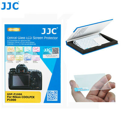 AU13.49 • Buy JJC 0.3mm 9H Optical Tempered Glass Screen Protector For Nikon COOLPIX P1000