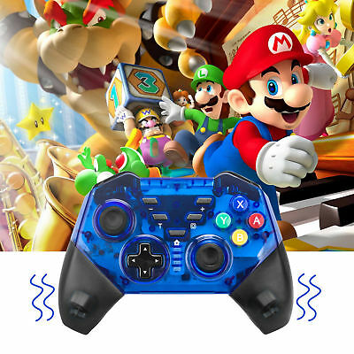 $28.38 • Buy Wireless Switch Pro Controller Gamepad Gyro Axis &Dual Shock For Nintendo Switch