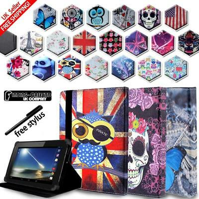 £4.99 • Buy For Tesco Hudl 1 2 /Windows Connect 7 8 10 Tablet Folio Stand Leather Cover Case
