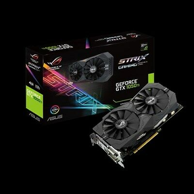 $ CDN374.41 • Buy ASUS GeForce GTX 1050Ti 4GB GDDR5 ROG STRIX-GTX1050TI-4G-GAMING PCI-E Video Card