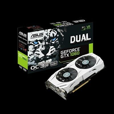 $ CDN370.76 • Buy ASUS GeForce GTX 1060 3GB GDDR5 DUAL-GTX1060-O3G PCI-E Video Card HDMI DVI DP