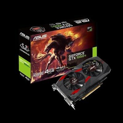 $ CDN339 • Buy ASUS GeForce GTX 1050 Ti 4GB GDDR5 CERBERUS-GTX1050TI-A4G PCI-E Video Card HDMI