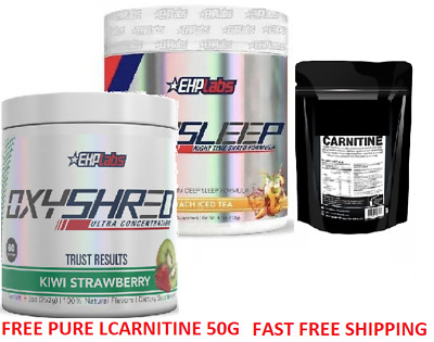AU123.40 • Buy Ehplabs Oxyshred And Oxysleep Thermogenic Weight Loss Fat Burning
