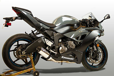 $786 • Buy M4 Exhaust Kawasaki ZX6R 2009-2021 Full System W/POLISHED Street Slayer Canister