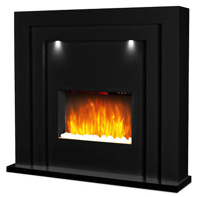 £299.99 • Buy Electric Fire Fireplace Inset Standing Surround LED Lights Lighting Living Room
