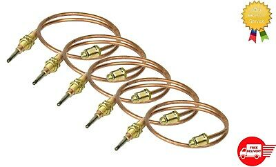 Gas Pilot Burner Thermocouple 30cm QTY 5 For ARCHWAY NEWSCAN Doner Kebab Machine • 16.45£