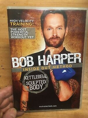 Bob Harper: Inside Out Method(UK DVD)Kettlebell Sculpted Body Workout Circuits • 19.99£