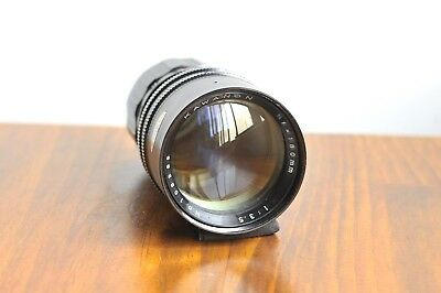 AU219.95 • Buy KAWANON 180mm F/3.5 For Pentax M42 Screw Mount Lens * Dual Ring, Smooth Aperture