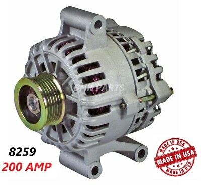 $131.90 • Buy 200 AMP 8259 Alternator Ford Escape Mazda Tribute High Output NEW HD Performance