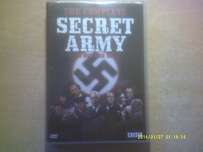 £39.99 • Buy Secret Army  Complete Series  1,2 & 3      New     Dutch Import       Fast  Post