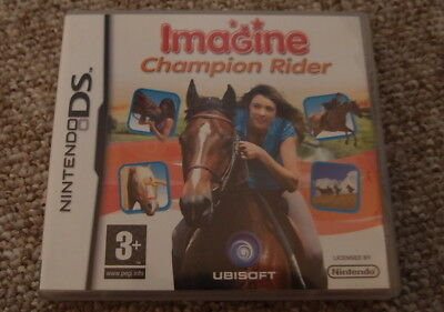 Imagine Champion Rider Nintendo DS Game Boxed With Booklet. • 4.99£