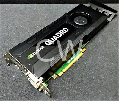 $ CDN503.92 • Buy 701980-001 HP NVIDIA QUADRO K5000 4GB GDDR5 Dual DVI PCI-E Graphics Video Card