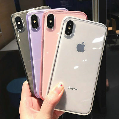 AU3.53 • Buy Shockproof Transparent Silicone Case Cover For IPhone 11 Pro Max XR X 8 7 Plus 6