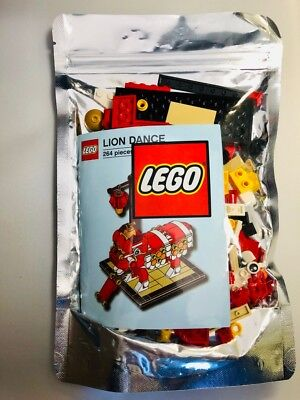 $79.95 • Buy LEGO Chinese New Year LION DANCE 2019 ASIA EXCLUSIVE 264 PCS,US SELLER!!