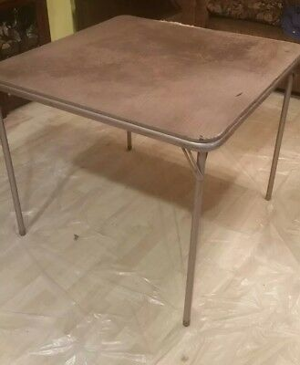 Certainly. really vintage card table removed