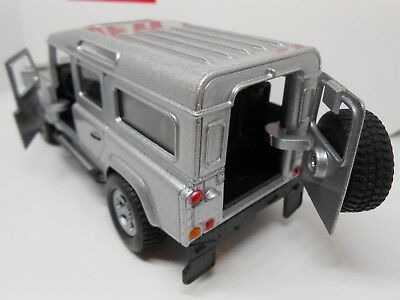 TOY CAR LANDROVER DEFENDER 4x4 MODEL BOY GIRL DAD BIRTHDAY PRESENT GIFT NEW • 7.95£