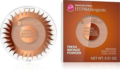 Bell HYPOAllergenic FRESH BRONZE POWDER For Sensitive Skin 168 • 6.49£