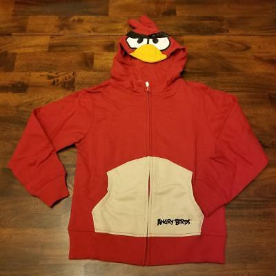 £8.51 • Buy Character Hoodie Angry Birds Red Kids L 10/12 Xl 14/16 Xxl 18/20 Nwt Halloween