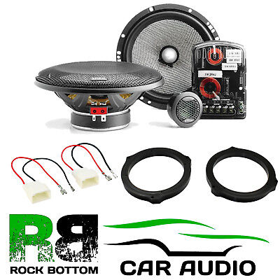 Ford Focus 2004-2010 Focal Access 240 Watts Component Kit Rear Door Car Speakers • 149£