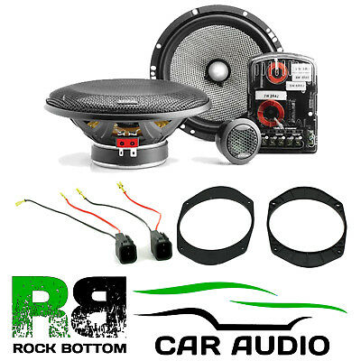 Ford Fusion 2002-2012 Focal Access 240 Watts Component Rear Door Car Speakers • 149£