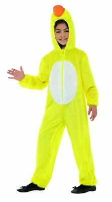 Childrens Boys Girls Yellow Duck Bird Fancy Dress Costume Book Day Outfit • 11.99£