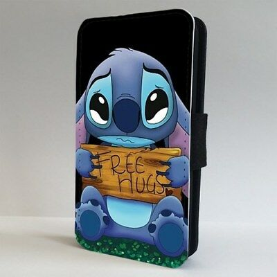 Lilo And Stitch Free Hugs Disney FLIP PHONE CASE COVER For IPHONE SAMSUNG • 9.95£