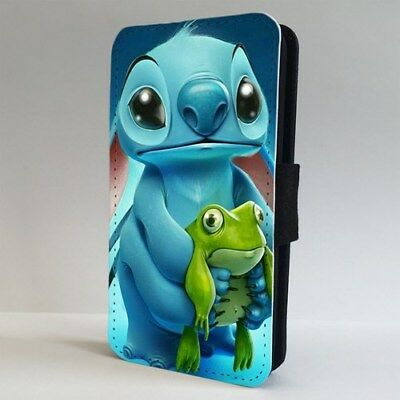 Lilo And Stitch Cute Funny Disney FLIP PHONE CASE COVER For IPHONE SAMSUNG • 9.95£