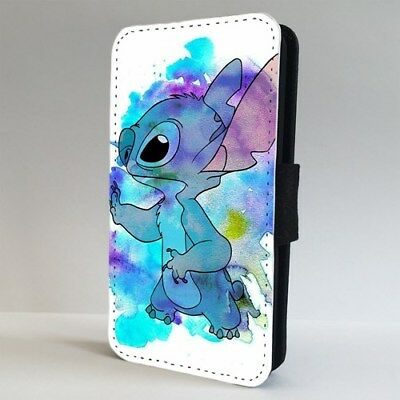 Lilo And Stitch Amazing Colourful FLIP PHONE CASE COVER For IPHONE SAMSUNG • 9.95£