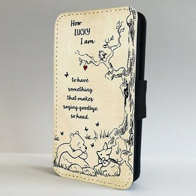 £9.95 • Buy Winnie The Pooh Amazing Piglet Quote FLIP PHONE CASE COVER For IPHONE SAMSUNG