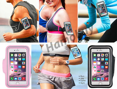 Sports Running Jogging Gym Armband Arm Band Case For Apple IPhone 5 6 7 8 X Plus • 2.70£