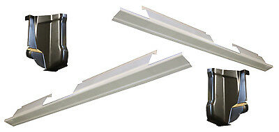 $145 • Buy 2001-03 Ford F-150 Pickup Crew Cab Outer Rocker Panels AND Cab Corners NEW PAIR