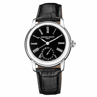 Frederique Constant Slimline Automatic Movement BlackDial Mens Watch FC-710MB4H6 • 825$