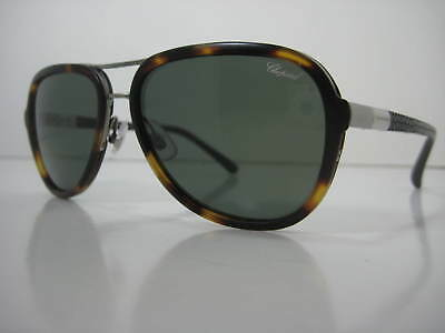 e8c7bbaffb Authentic Chopard Aviator Sunglasses SCH 881 Polarized Tortoise Mille  Miglia • 99.00
