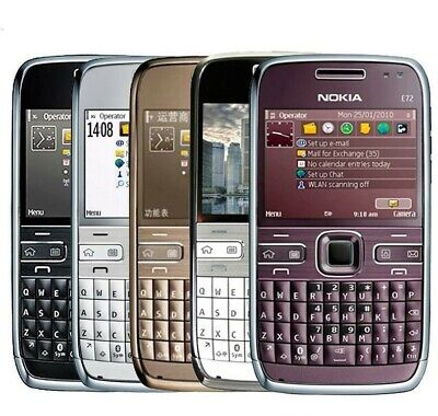 £32 • Buy NOKIA E72 QWERTY UNLOCKED 5MP WIFI 3G BLUETOOTH MOBILE Phone / BOX PACK