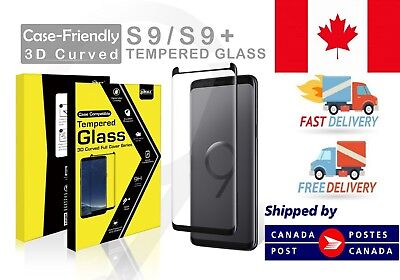 $ CDN7.99 • Buy  Samsung Galaxy S9 S9+ Plus Tempered Glass Screen Protecto Case Friendly Curved