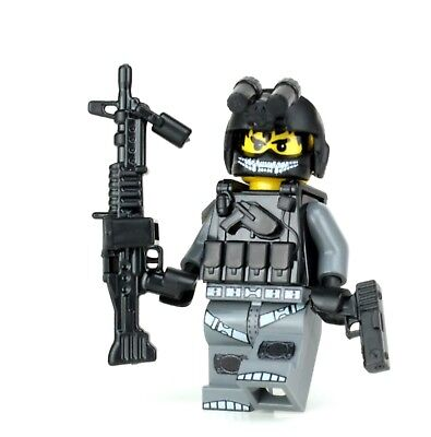 £8.72 • Buy Army Helicopter Crew Chief Made With Real LEGO® Minifigure