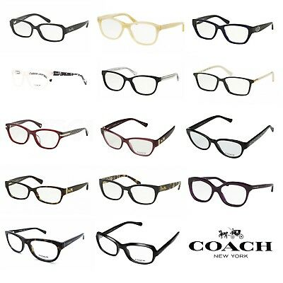 96971752d043 Coach Clear Lens Authentic Eyeglasses With Box Select Style NWT • 48.90$