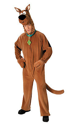 Adult Mens Scooby Doo Dog Costume Fancy Dress Book Week Party • 42.77£