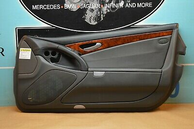$170.99 • Buy 03-06 R230 Mercedes Sl500 Sl55 Right Passenger Side Door Panel Charcoal #1