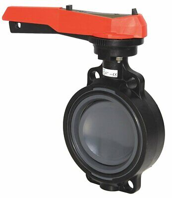 $177.77 • Buy  6  PVC Butterfly Valve GF Piping Systems 567 Hand Lever Ratchet Settings, EPDM