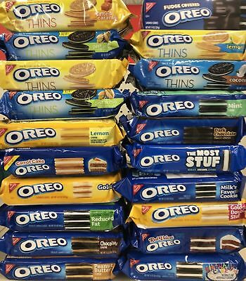 Nabisco Oreo Chocolate Golden Thins Variety Flavored Sandwich Cookies Limited • 10.46£